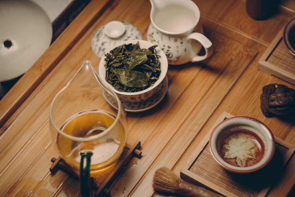 Tea Leaves Cooking