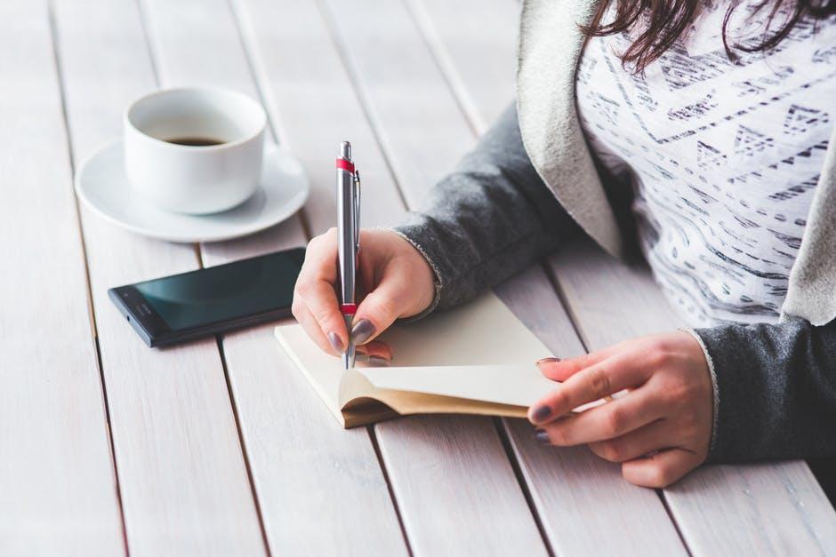 Writing Pen Tea Blogs