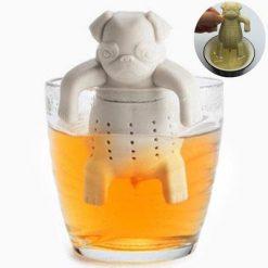 pug dog tea infuser