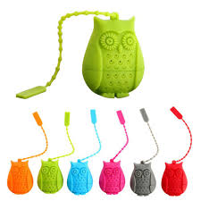 cute owl steeper infuser