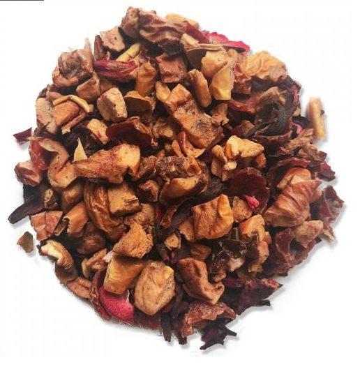 Ruby Red Apple Tea with Elderberry