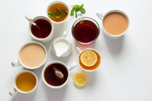 variety of teas