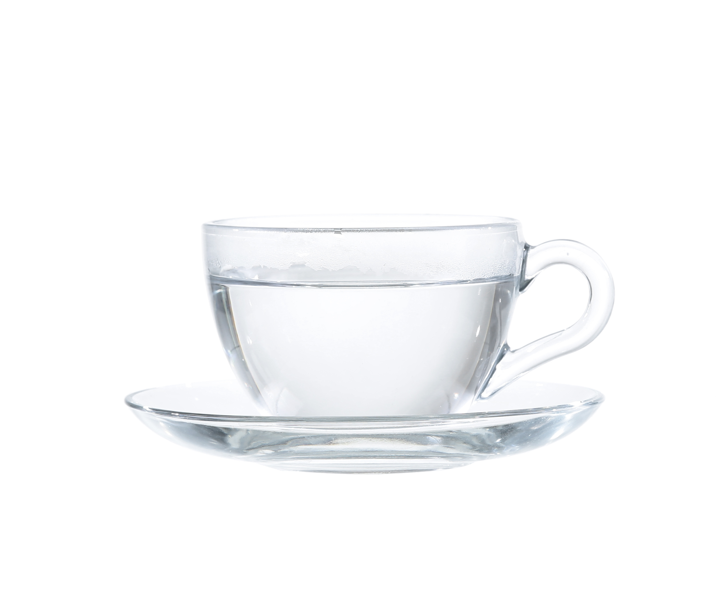 purified water in tea