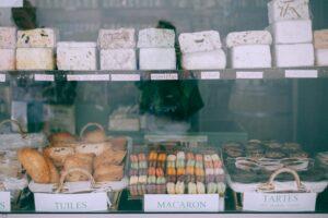 grocery store window
